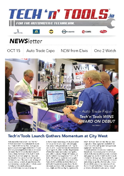 Tech'n'Tools Newsletter Oct 2015
