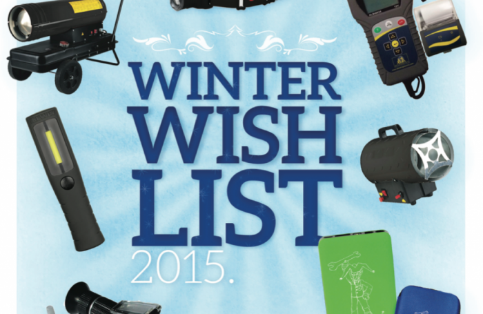 Winter Wish List 2015/6