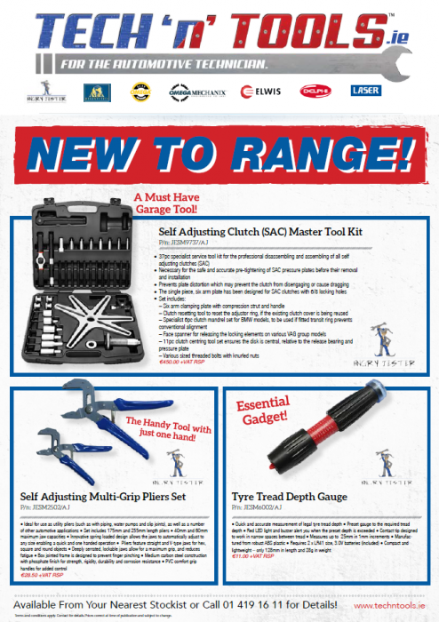 Tech'n'Tools March 2016 New to Range