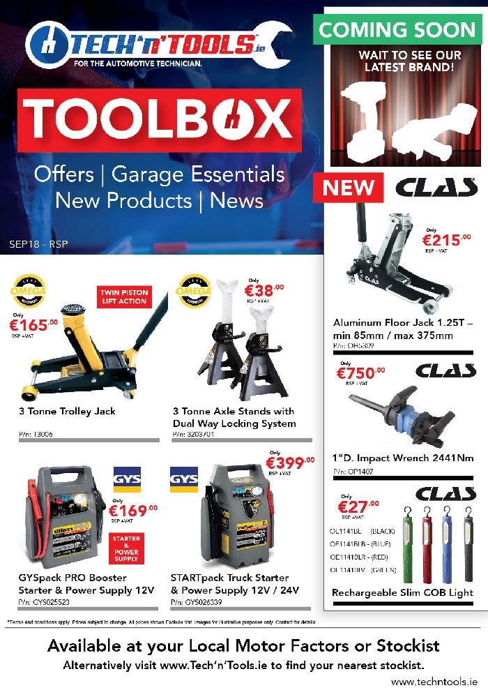 Toolbox - News, Offers,Garage Essentials