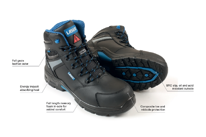 EV Insulated Work Boots from Laser