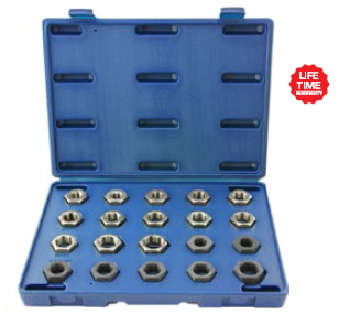 20pc Master Spindle Rethreading Set