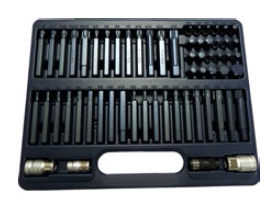 "60pc 3/8"" and 1/2"" Dr. Bit Set"