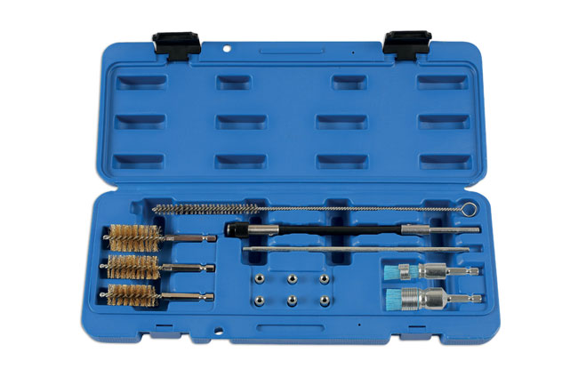 Diesel Injector Seat Cleaner Set - 14pc