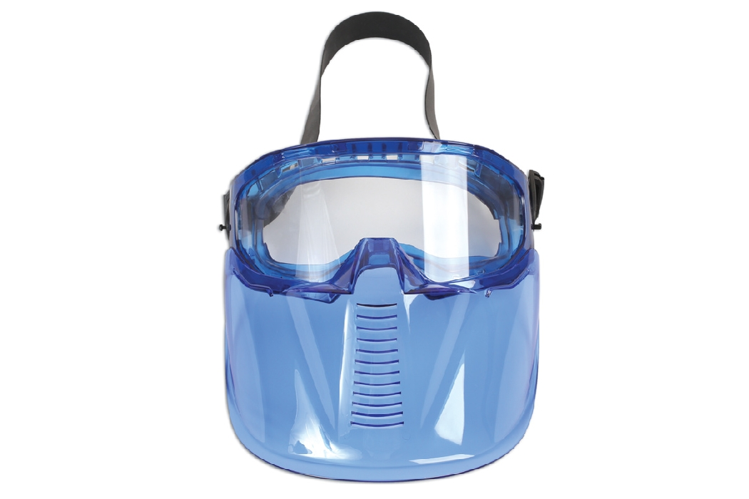 Safety Goggles - Detachable Face Shield