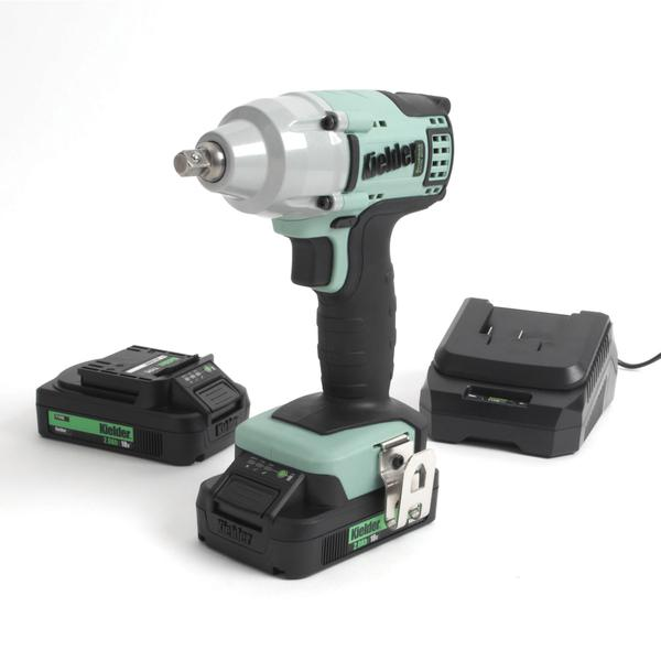 "3/8"" Impact Wrench 18v Two Batt 2.0Ah 230v UK"