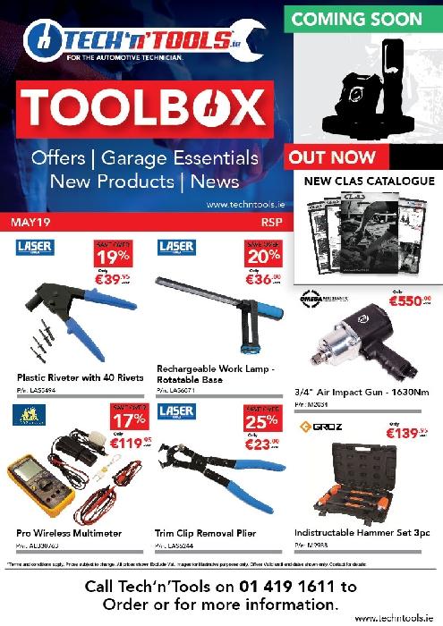 Toolbox May 2019