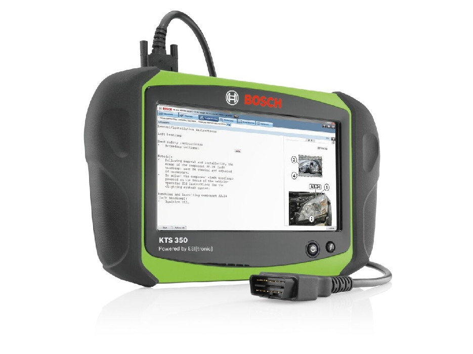 Bosch KTS 350 Diagnostics