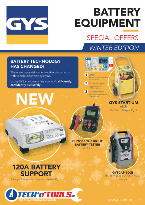 GYS Battery Equipment Catalogue Winter 2019