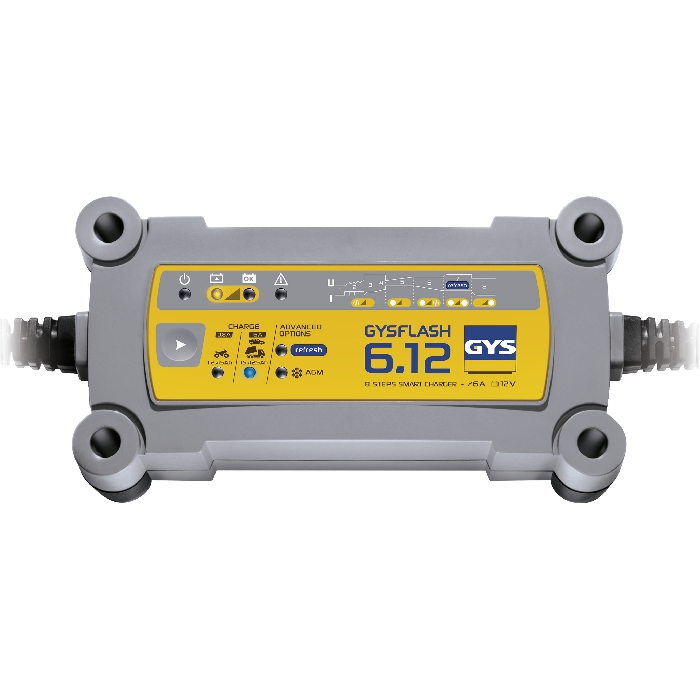 GYSFLASH 6.12 - BATTERY CHARGER